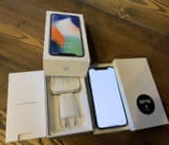 IPHONE X silver 64 GB – nový
