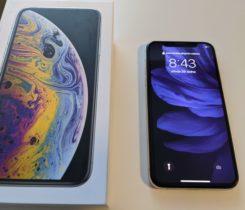 iPhone XS silver 64 – rok záruka
