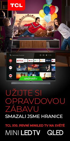 Televize TCL s DVB-T2