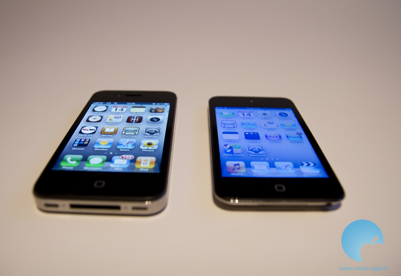 iPhone 4 display vs iPod touch 4 display