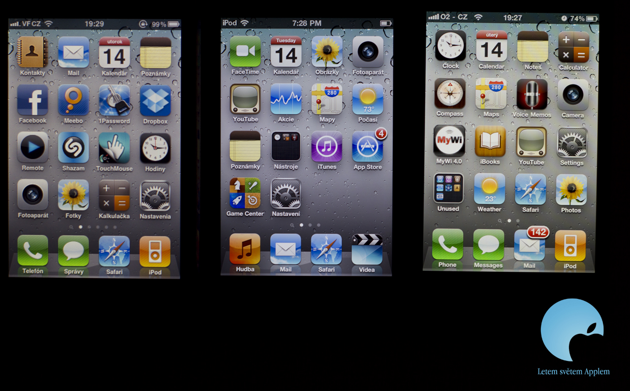 iPod touch 4 vs. iPhone 4 display
