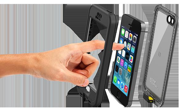 Lifeproof nuud  první vodotěsný obal na iPhone 5s e7a6c34281a