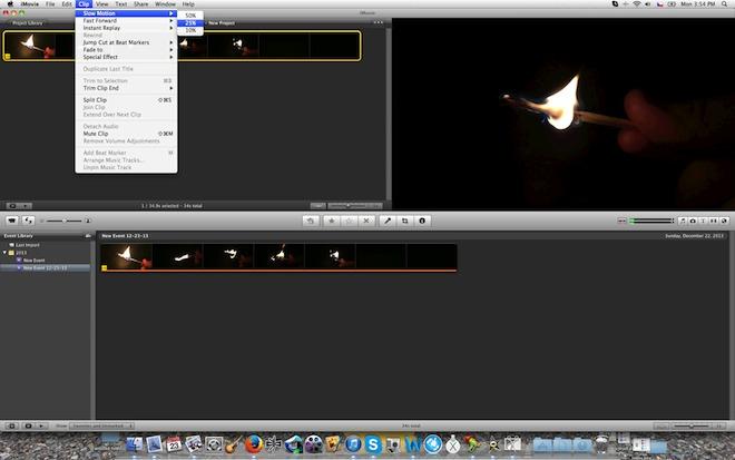 Logiciel slow motion mac