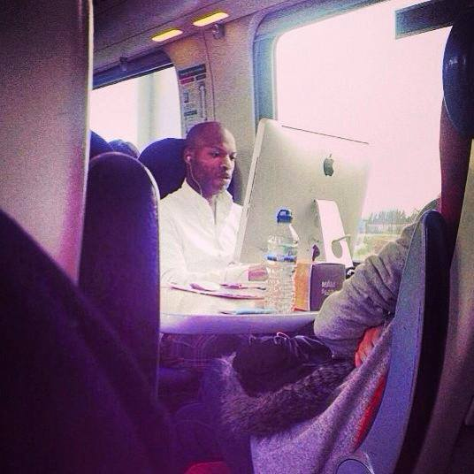 iMac in train fail