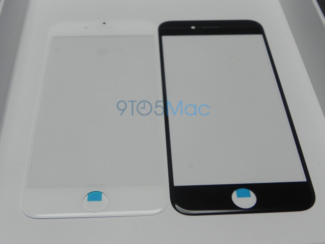 iPhone 6 front panel top