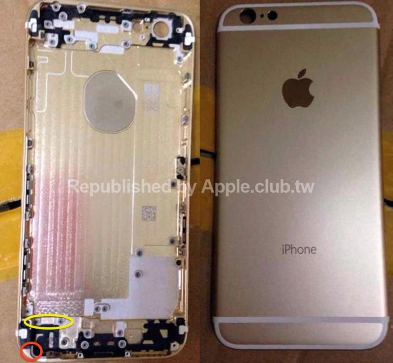 Zadný kryt iPhone 6 sa ukazuje na novej fotke caccefd3e7c