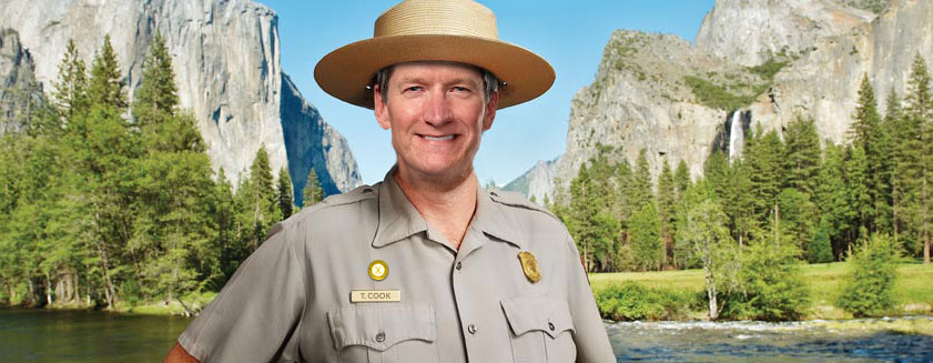 Tim Cook Yosemite Genius Ranger