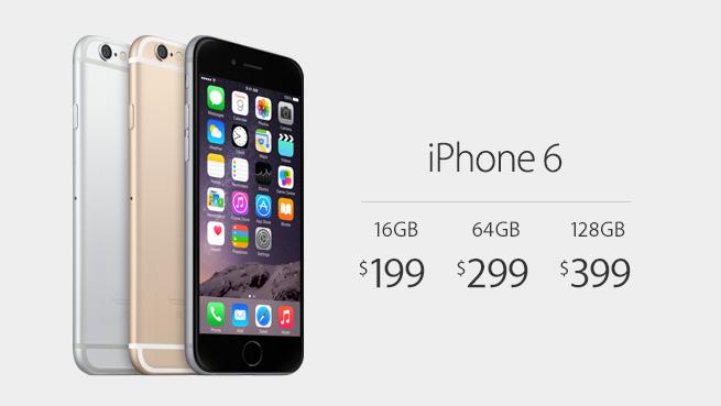 iphone 6 prijs usa