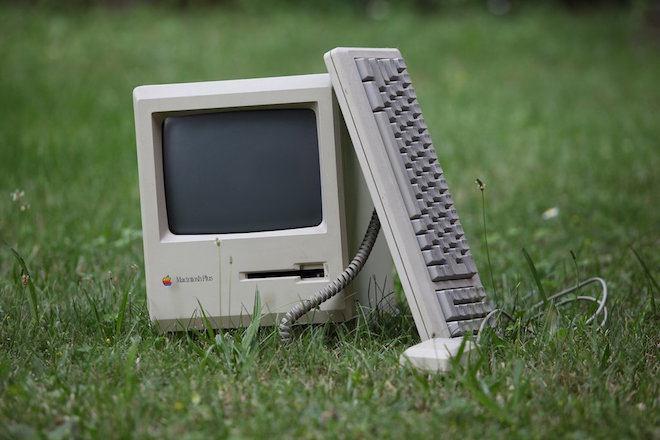 apple-released-the-macintosh-plus-in-january-1986-with-a-2599-price-tag-this-model-was-the-longest-produced-in-mac-history-and-included-an-scsi-port-so-that-users-could-plug-in-external-devices-like-hard-disks-tape-drives-or-printers