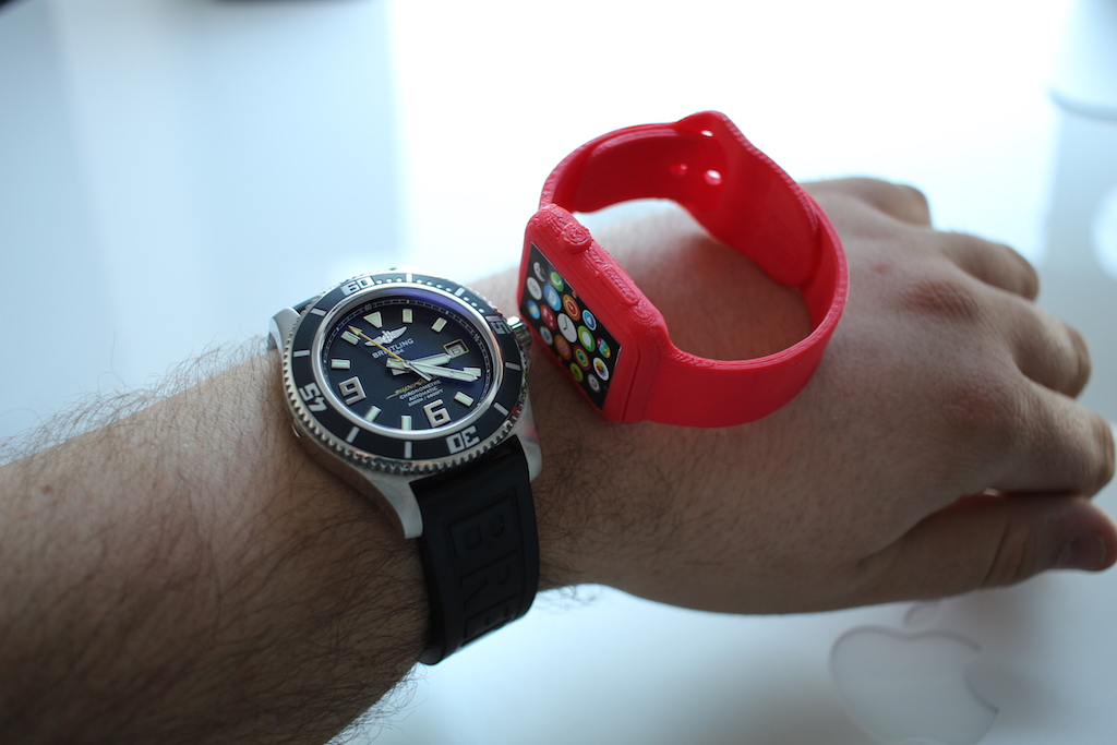 Apple Watch 3D print