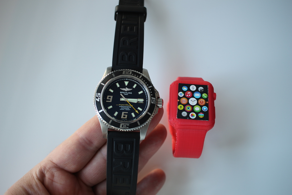 Apple Watch 3D