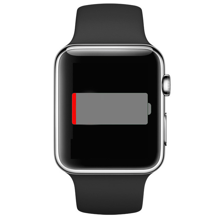 Apple Watch battery icon