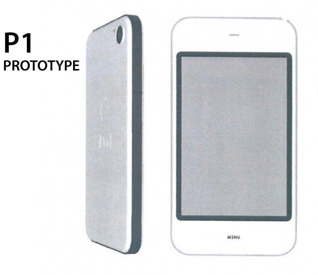 Prototyp iPhonu 4 s označením P1 - svetapple.sk