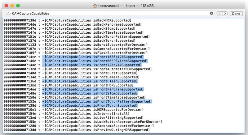 Zmienky o prednej kamere v zdorjových kódoch iOS 9 - svetapple.sk