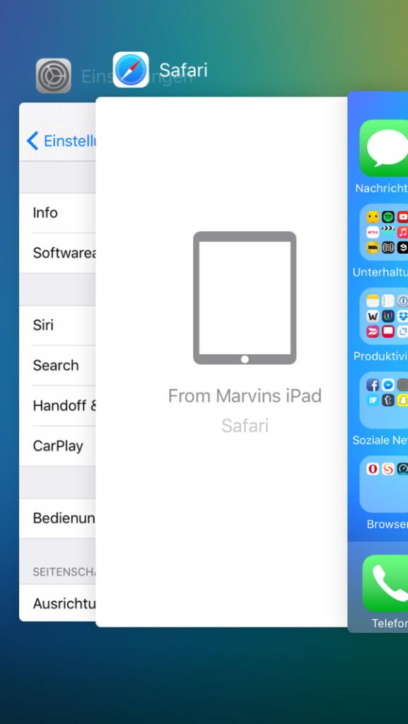 Apple vylepšilo aj Continuity/Handoff, ktoré teraz spolupracuje s multitaskingom - svetapple.sk