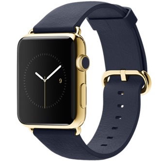 Apple Watch gold icon