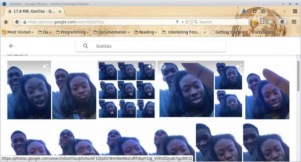 Google Photos a kľúčové slovo Gorilla - svetapple.sk