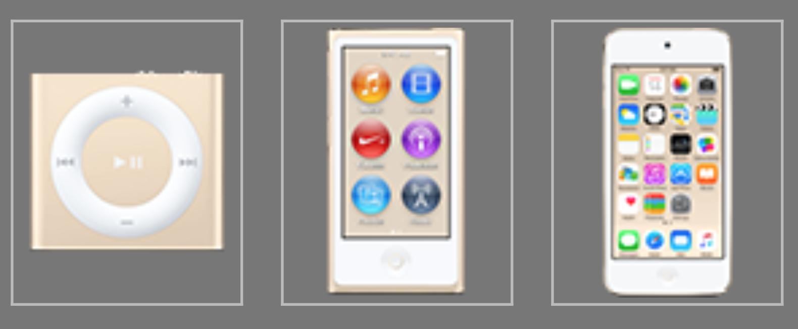 iPod Gold - svetapple.sk