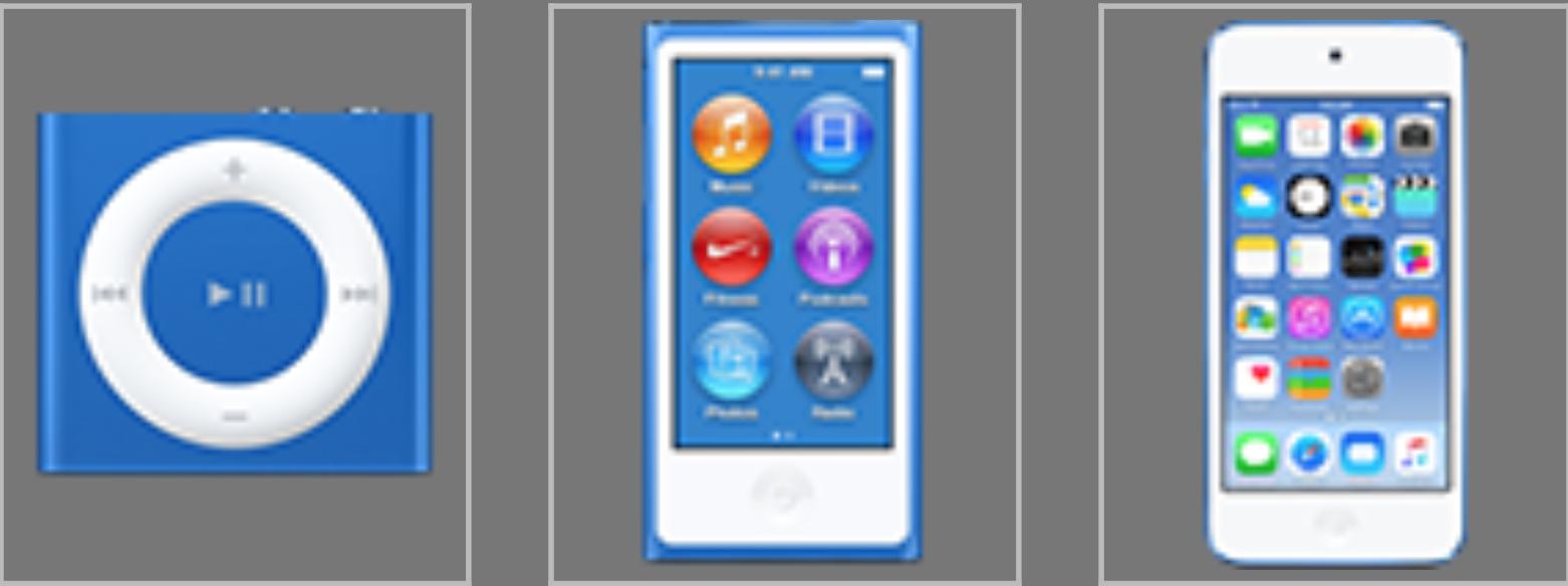 iPod Dark Blue - svetapple.sk
