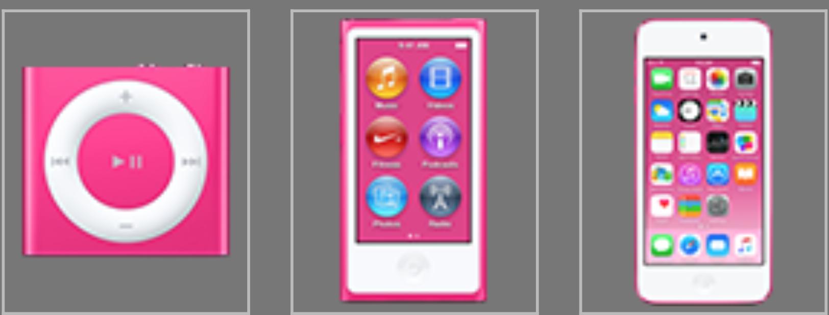 iPod Dark Pink - svetapple.sk