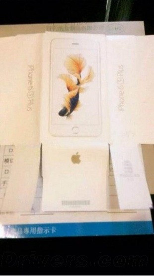iPhone 6s Plus packaging
