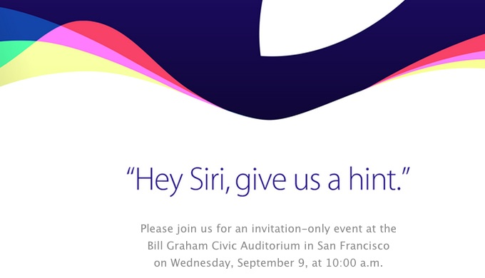 Apple Invite September 2015