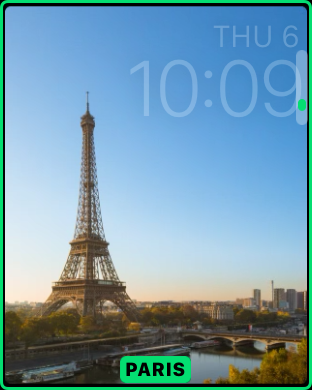 watchOS 2 beta 5 Paris timelapse