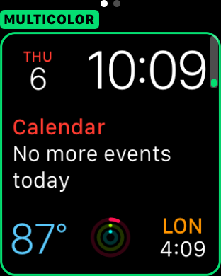watchOS 2 beta 5 modular