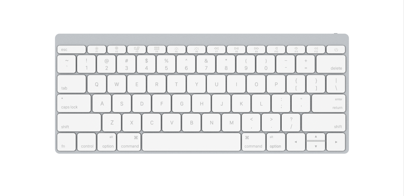 Apple Wireless Keyboard 2015 White