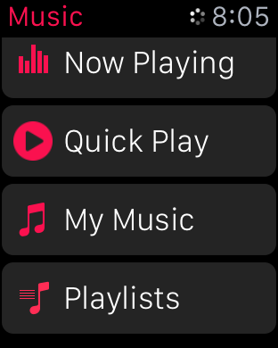watchOS 2 beta 5 Quick Play