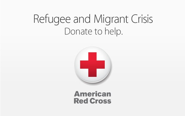 Apple Red Cross Migrant
