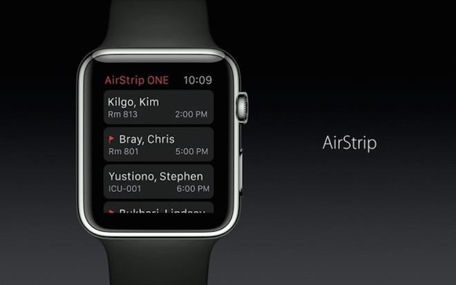 Apple Watch AirStrip