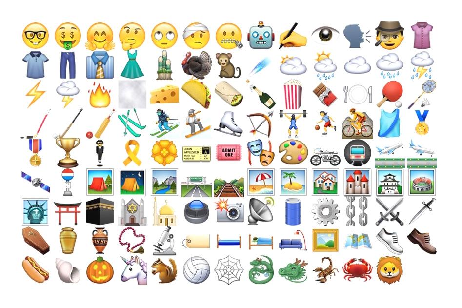 Apple emoji iOs 9.1