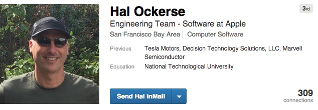 Hal Ockerse Apple