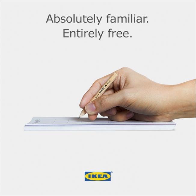 Ikea Apple Pencil
