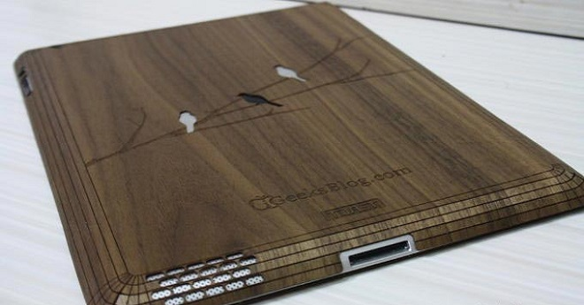 5x dřevěné kryty na iPad Air 2  Když je vám kov málo d054cca6cf