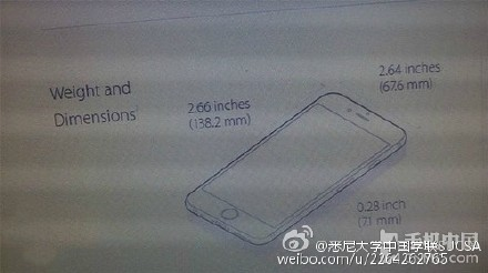 iPhone 6s dimensions