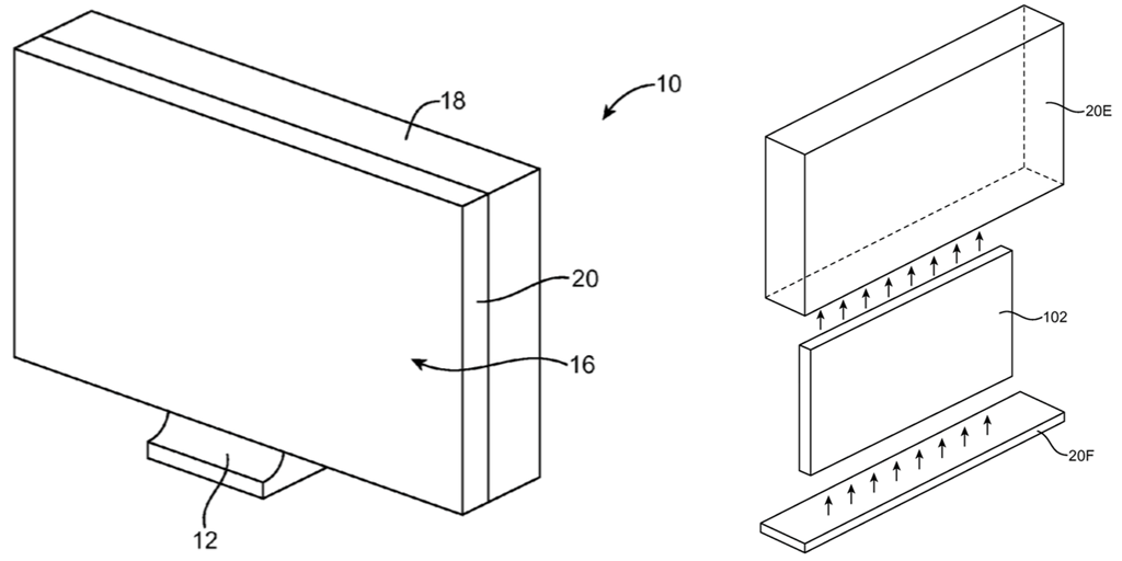 iMac glass patent
