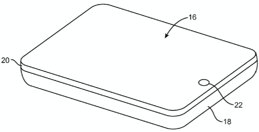 iPhone glass patent