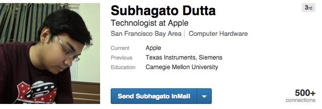 Subhagato Dutta Apple