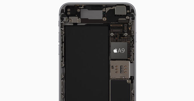 iPhone 6s A9 procesor