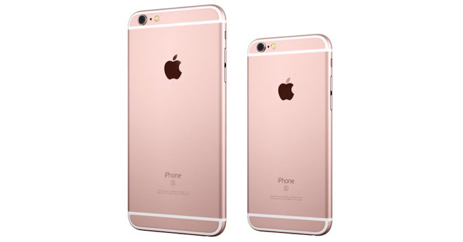 iPhone 6s Rose Gold iPhone 6s Plus Rose Gold