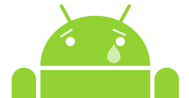 sad Android
