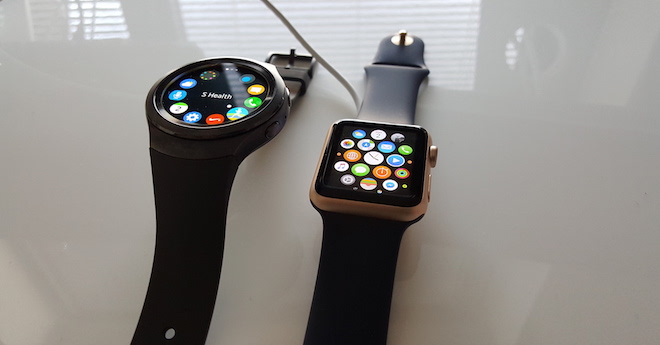 Apple Watch and Samsung Gear S2