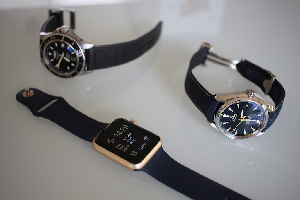 Apple Watch vs Breitling vs Omega