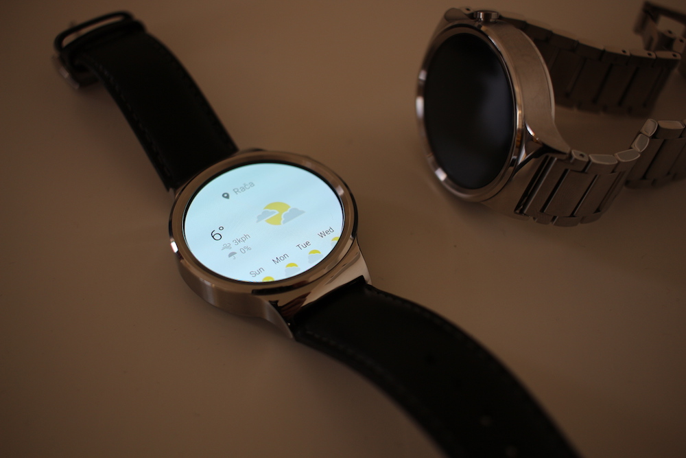 Huawei Watch Weather app
