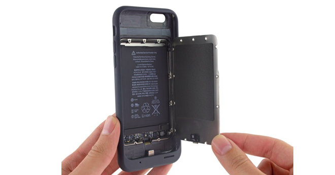 Battery smart case pod lupou - svetapple.sk