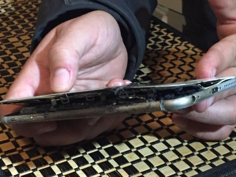 Takto vyzeral iPhone po incidente - svetapple.sk