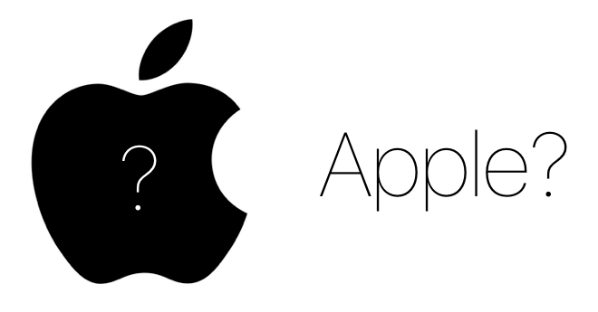 Why Apple why logo