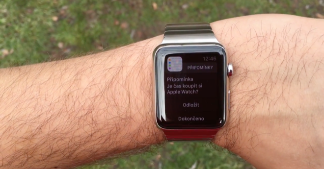 videorecenze Apple Watch
